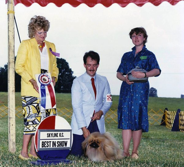 David's very first BIS came in 1986 when Coral Gable won under Keke Blumberg.