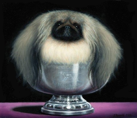 Malachy Westminster Portrait sitting in the trophy
