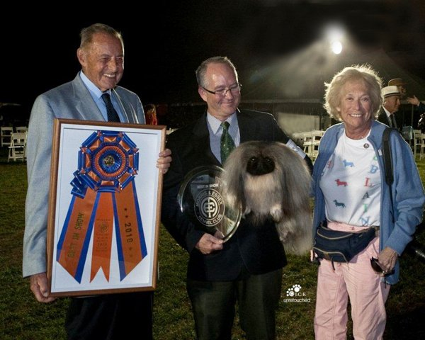 Palacegarden Malachy Best In Show at Morris & Essex
